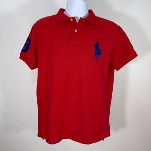Polo by Ralph Lauren Big Pony logo Red size L